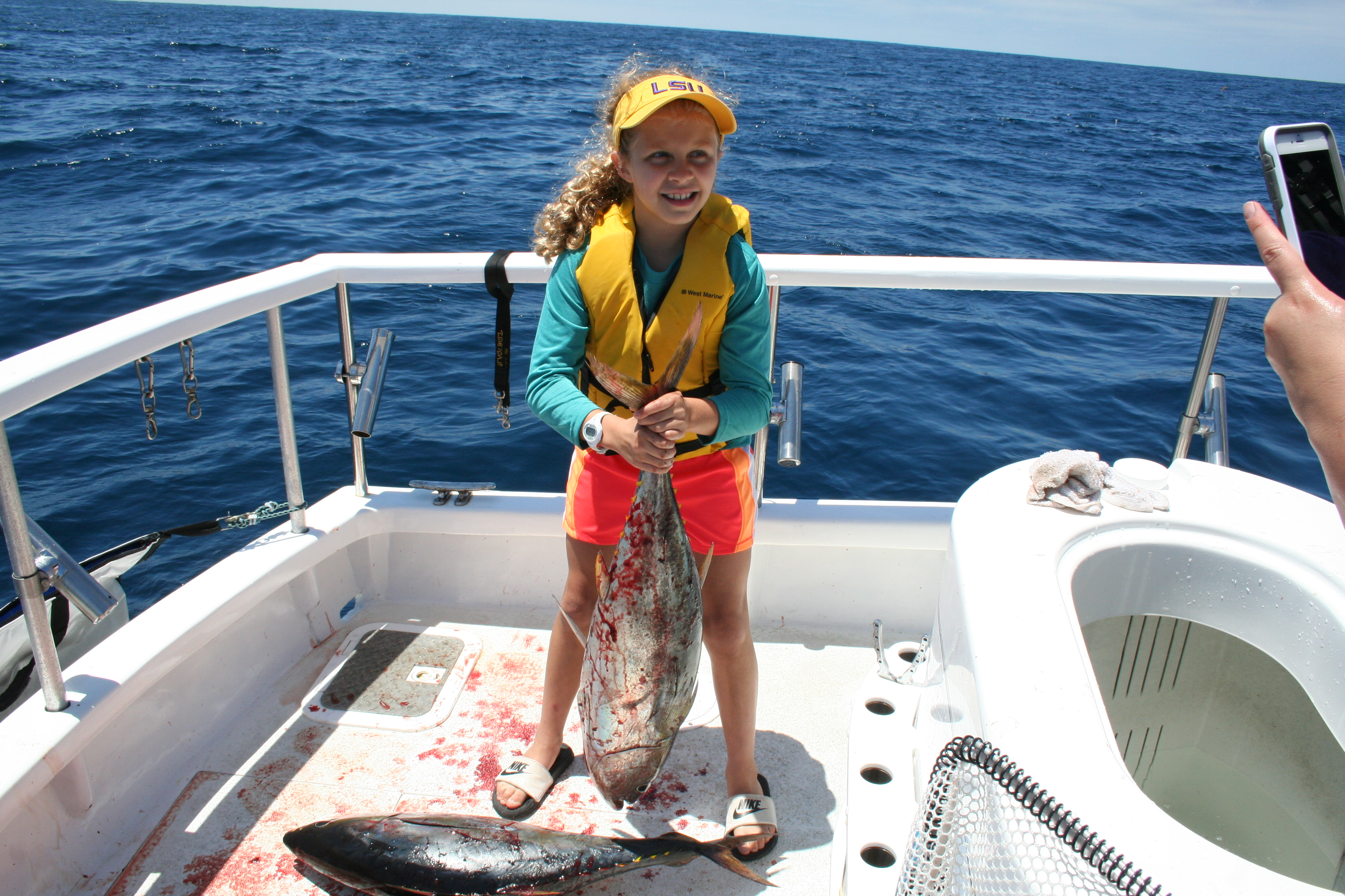 Kid friendly fishing trips san diego fishing charters for Fishing report san diego