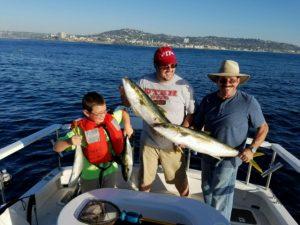 Kid friendly fishing trips san diego fishing charters for San diego private fishing charters