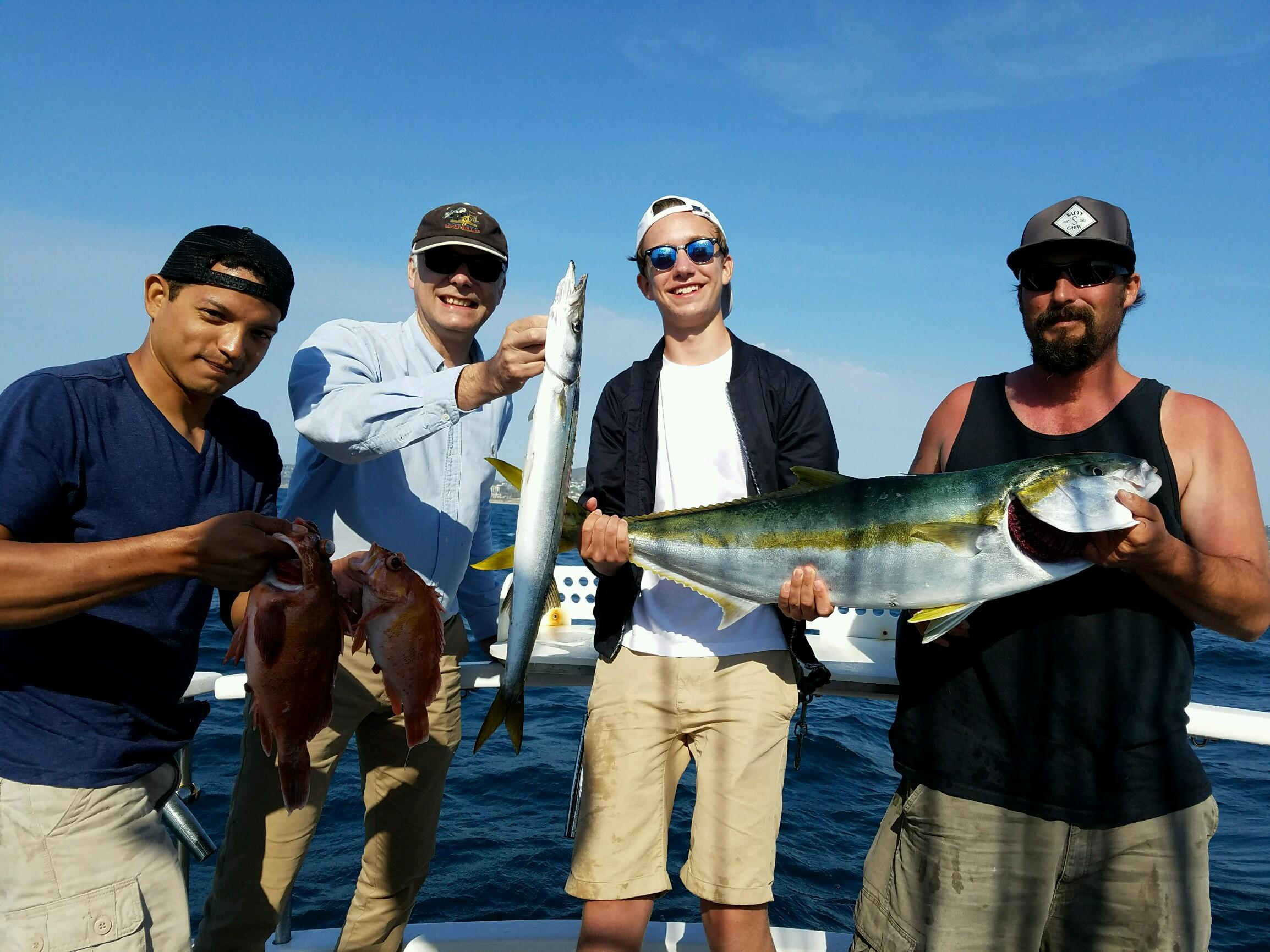 Fishing report for march 2017 san diego fishing charters for San diego fish report