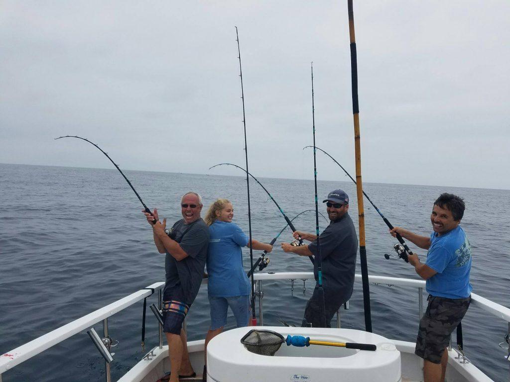 September 2016 Wide Open Yellowfin Tuna Bite In San Diego