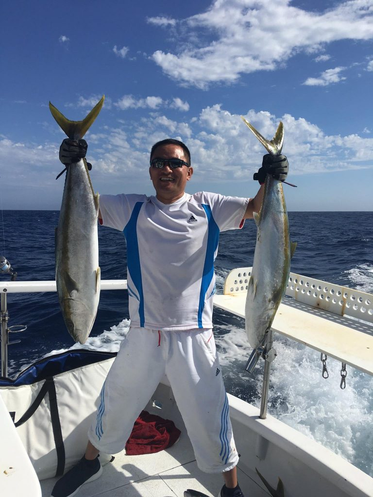Let the good times roll 12 yellowtail 12 dorado san for Fishing in san diego