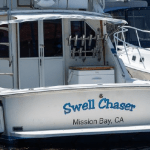 Swell Chaser Fishing boat